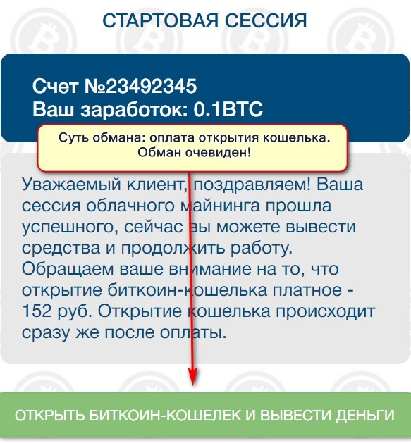 Money Bit, быстрый заработок на биткоинах