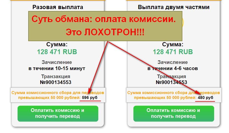 Система Возвратов, Transaction Control
