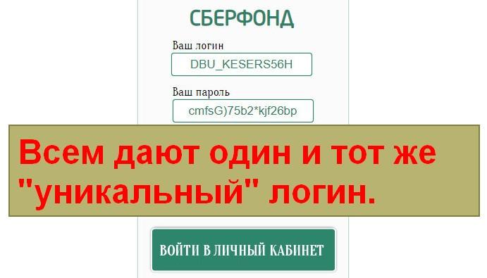 СберФонд, дочернее банковское учреждение