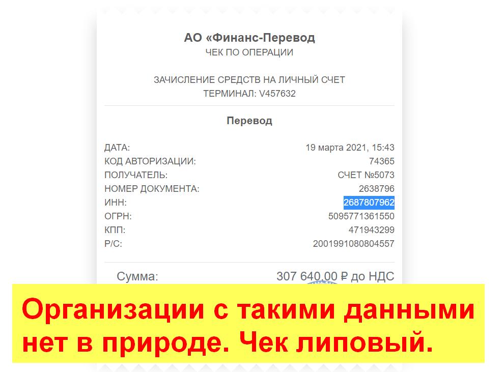 Финанс Перевод, международные онлайн переводы