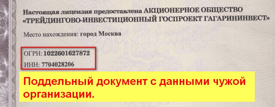 ГагаринИнвест, РосИнвест, Себастьян Григорьев, госпроект для заработка