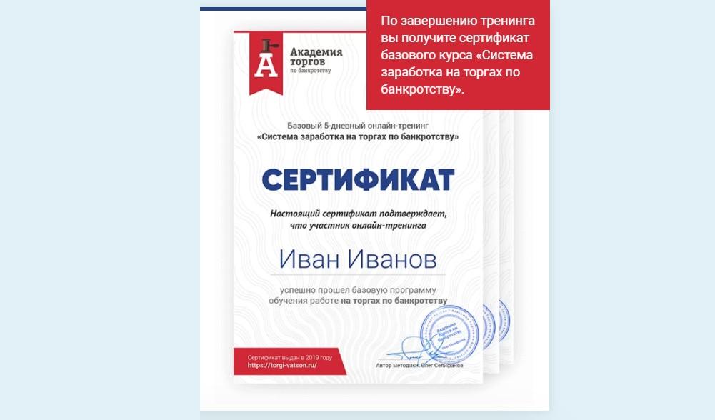 Заработок на торгах по банкротству, торги по банкротству, Олег Селифанов
